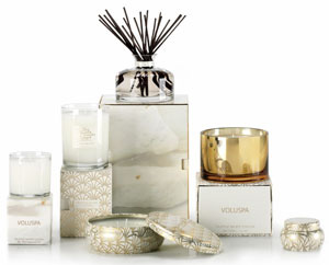 Voluspa Truffle White Cocoa Candle