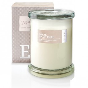 Ecoya Coral & Narcissus Candle