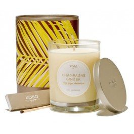 Kobo Champagne Ginger Candle