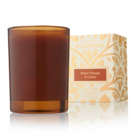 Thymes Wildwood - Bitter Orange & Cedar Votive Candle