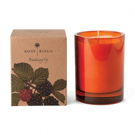 Rosy Rings Botanical Blackberry Fig Candle