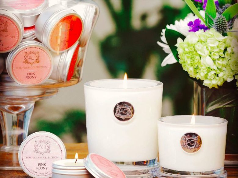 Eco Friendly Natural Candles Black White Currents Candle Delirium