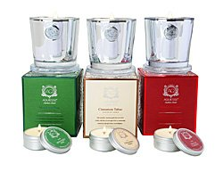 Aquiesse Holiday Candles