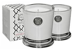 Aquiesse White Currents Candles