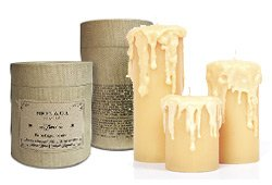 Biren & Co. Pre-Dripped Candles