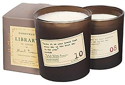 Paddywax Library Candles