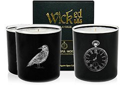 Wicked Negative Space Candles