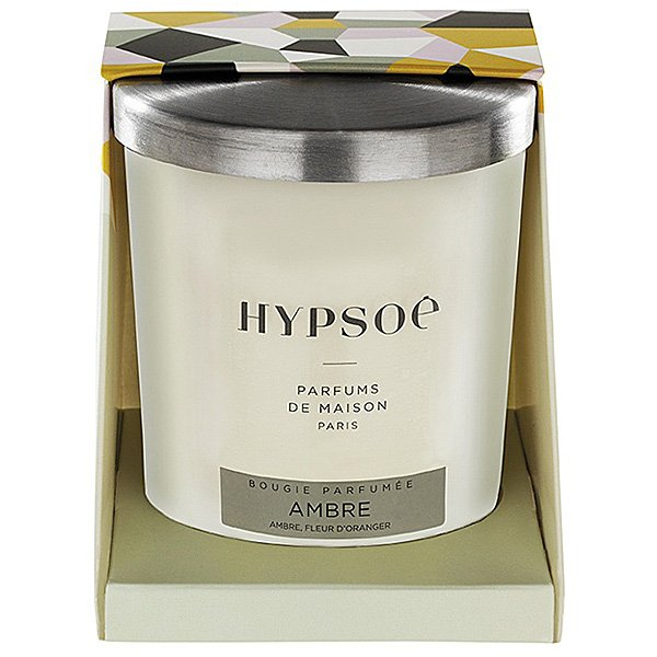 Hypsoe - Ambre (Amber) Glass Candle