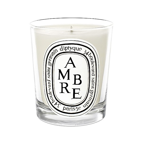 diptyque ambre mini candle amber diptyque candles