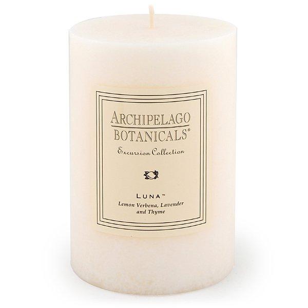 Archipelago Luna 4x6 Pillar Candle At Candledelirium Com Candle Delirium