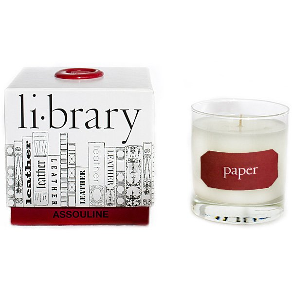 Assouline Paper Candle - 9 Candles Every Book-Loving Pyro Needs