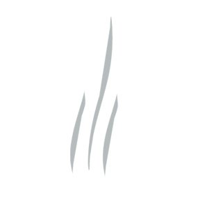 Voluspa Spiced White Cypress Embossed Glass Candle