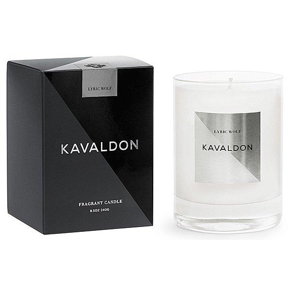 Kavaldon - Lyric Wolf Candle