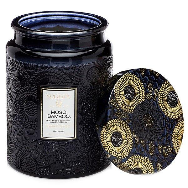 Voluspa Moso Bamboo Candle Candle Delirium
