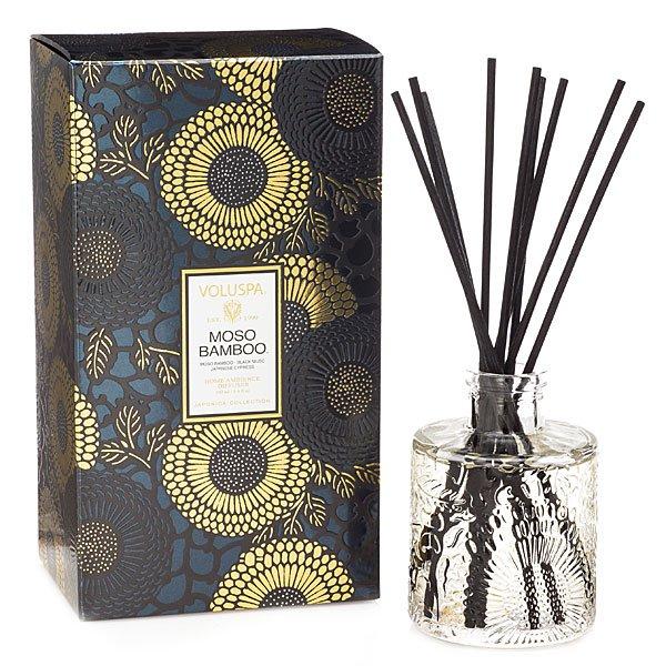 Voluspa Moso Bamboo Diffuser Candle Delirium