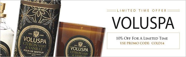Voluspa coupon code